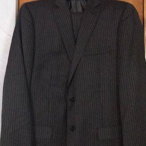 Men's Calvin Klein pin stripe 2-piece suit
